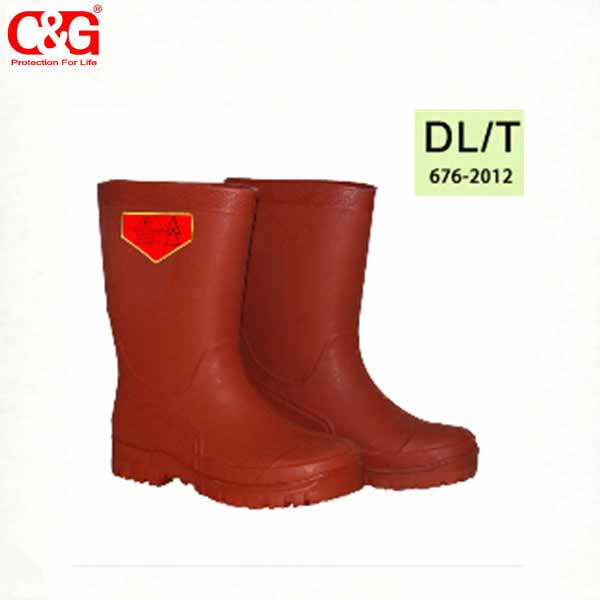 20KV Electrical insulating Boots