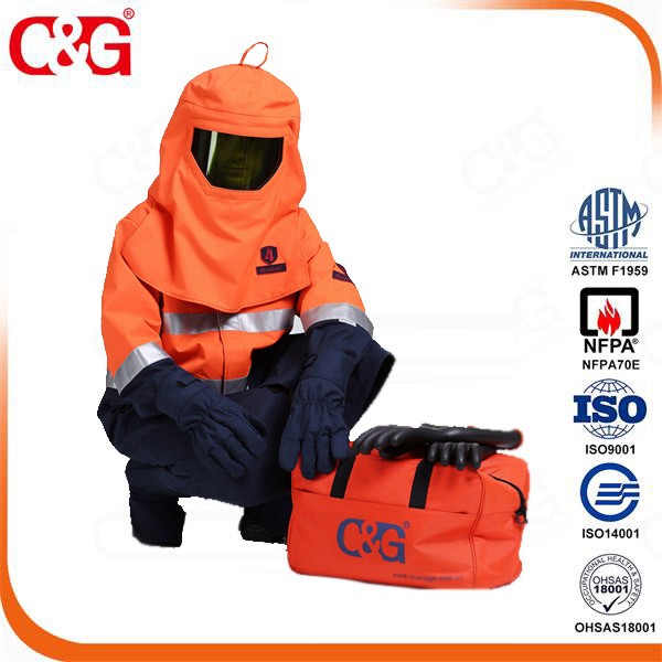Firefighter gear bag, Arc flash kit gear bag
