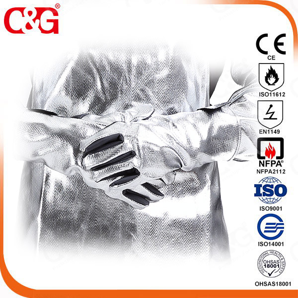 Anti-skid Metal Splash Gloves