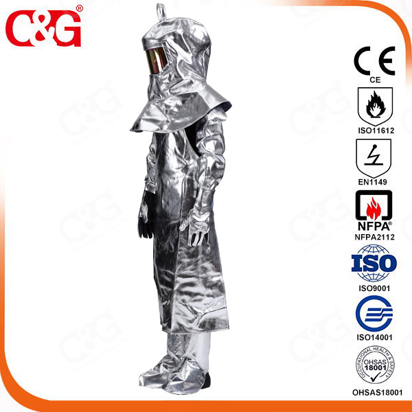 Aluminized Heat Resistant Leggings