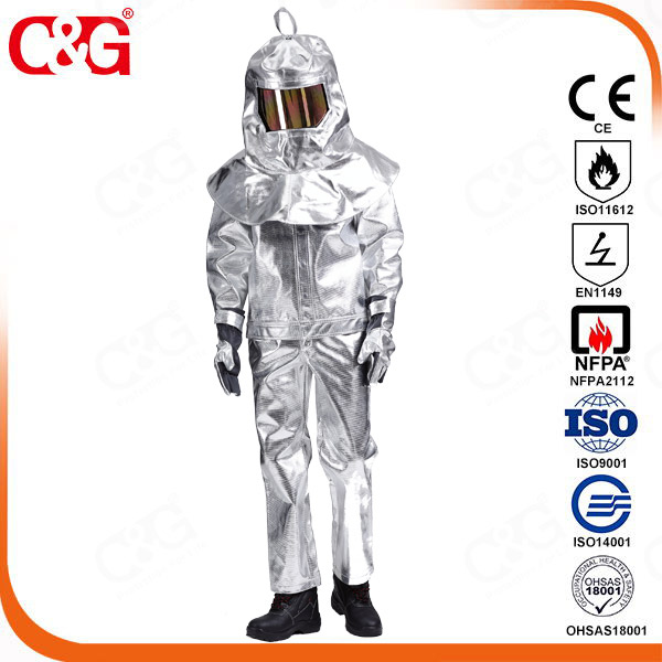 Aluminized jacket and pants 3H