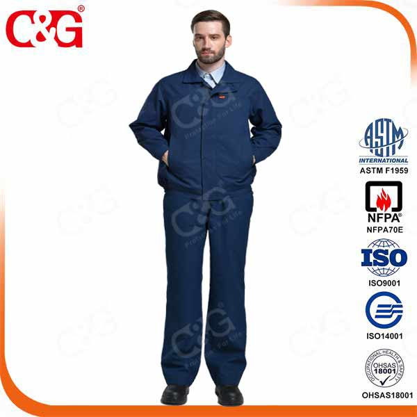 12 cal electrical arc flash protection workwear