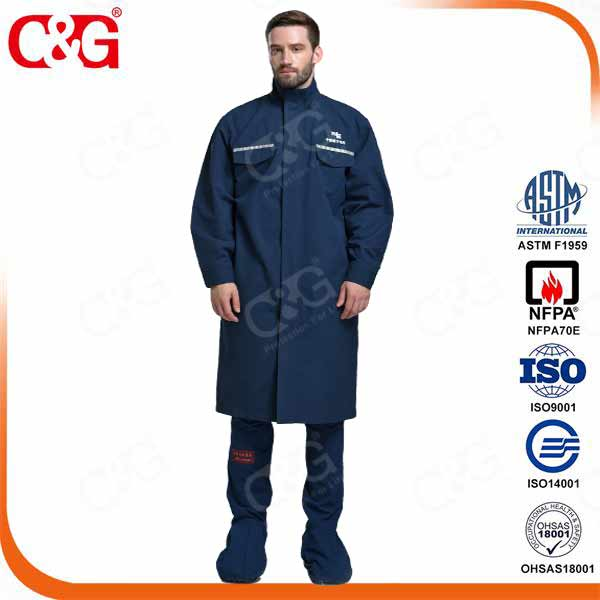 12 cal electrical arc flash protection suit