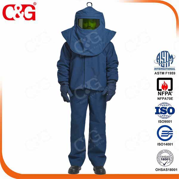 33 cal hood Electric Arc Flash Safety Hood fire protection hoods