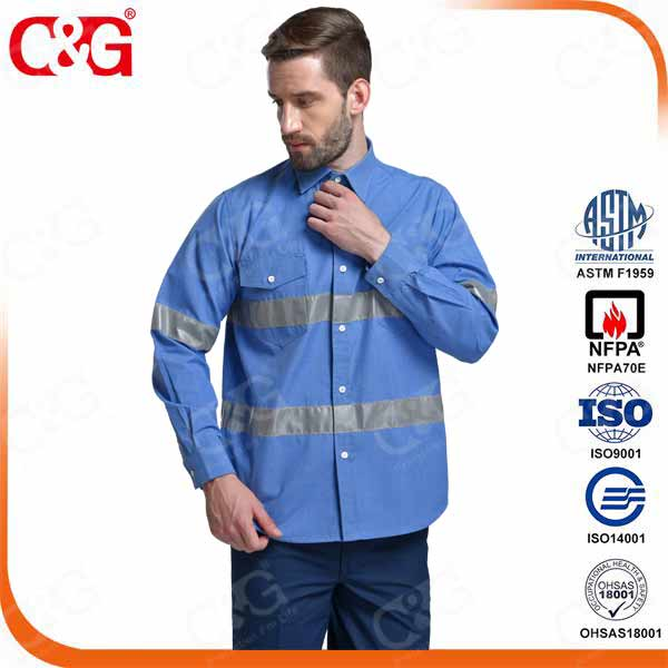 6cal/cm2 Arc Flash Shirt