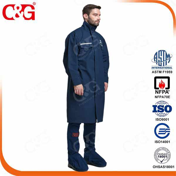 NFPA 70E arc flash protection suit -LEVEL 4