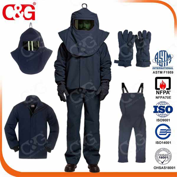 67 Cal Arc Flash Suit/Protective Clothing