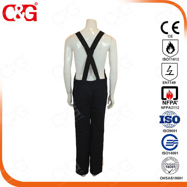 40CAL ARC FLASH protection suit electrician uniform from chinese manufacturer