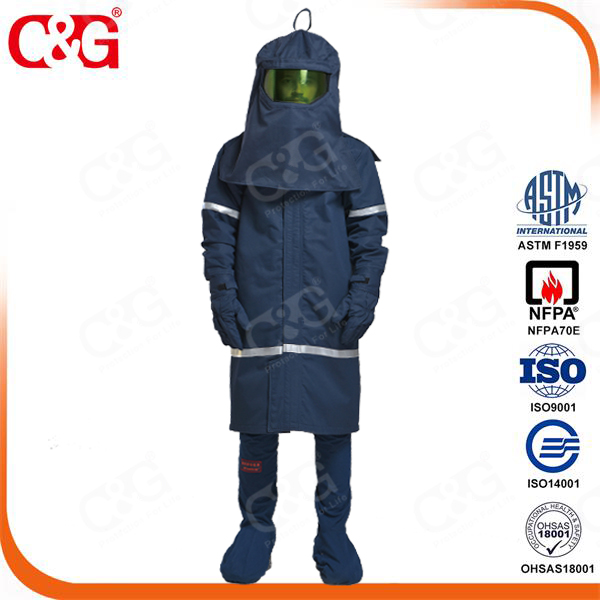 Cat4 40cal/cm2 electrician uniform for Arc Flash Protection