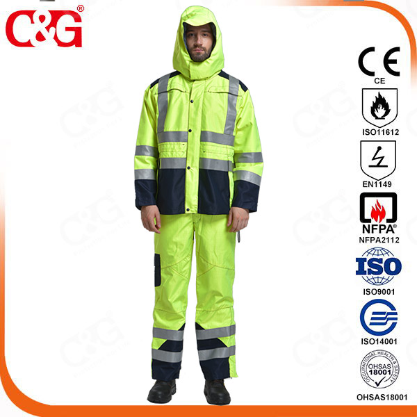 Flame Resistant and Arc Flash Rainwear
