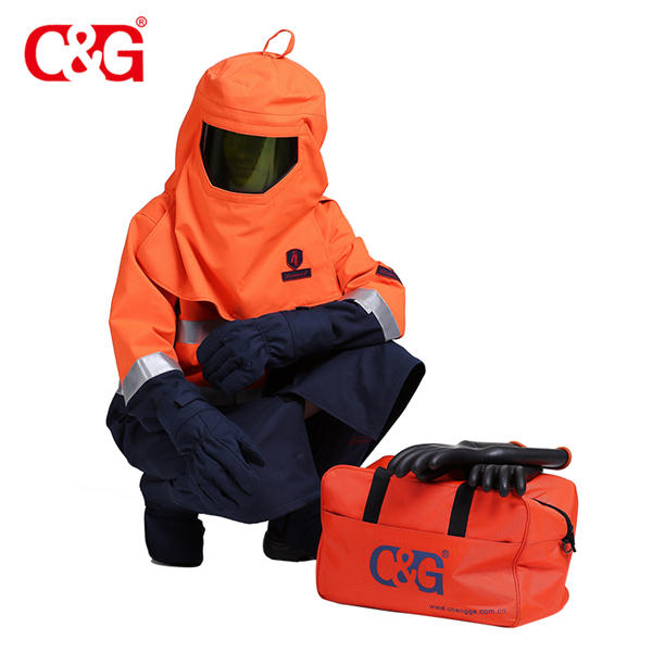 Complete production line 55 cal arc flash proof personal protective equipment clothing for ASTM F195