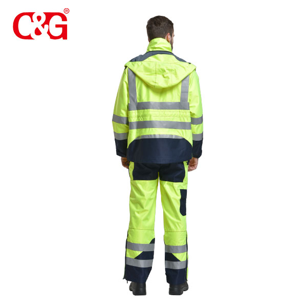 Arc Flash Raincoat Jacket/Coat & Pant