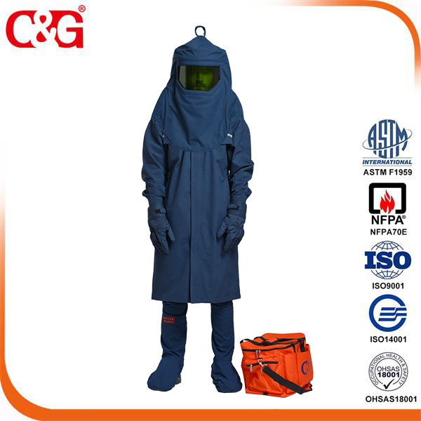 7CAT 4 65 cal Arc flash robe kit