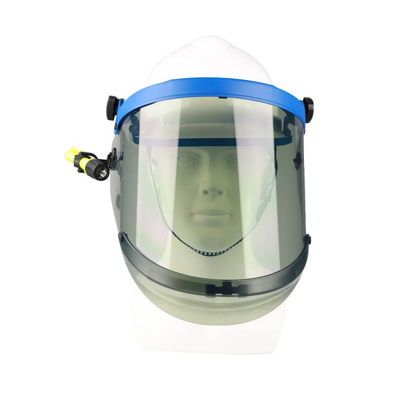 12 Cal Arc Flash Protection Face Shield Unit - 12 cal/cm2 rating