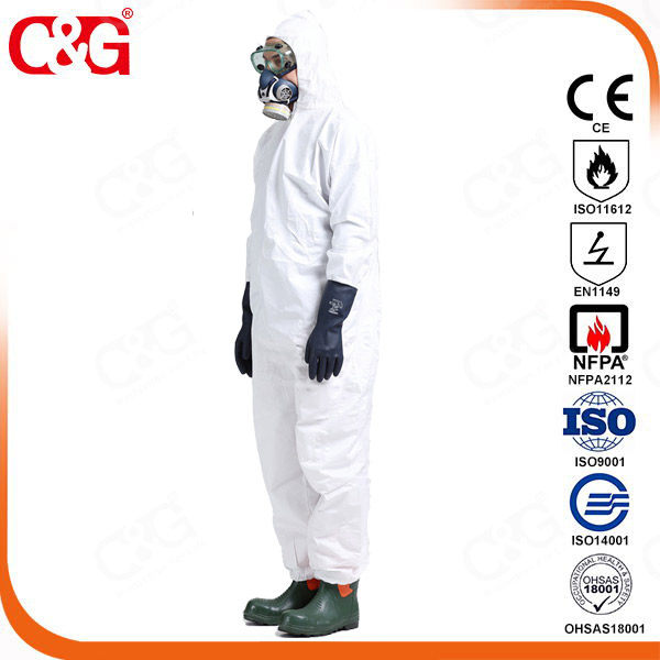 Chempro chemical protective clothing