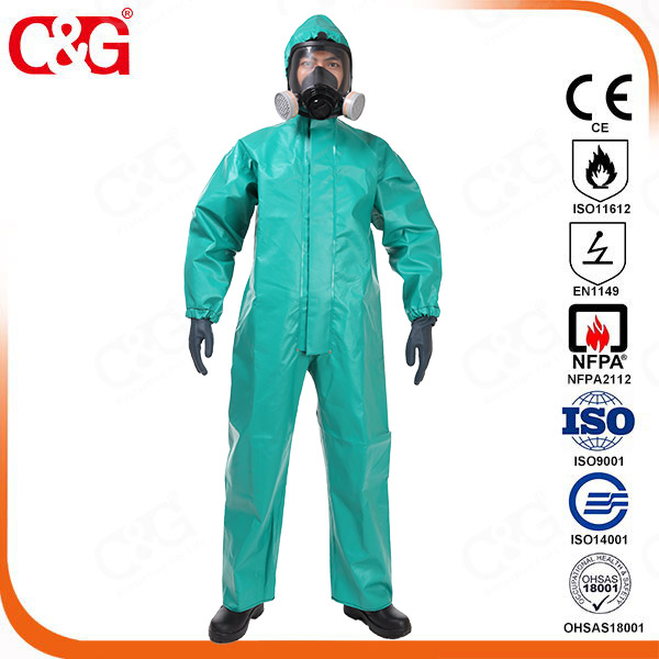 PVC Chemical Protective Clothing