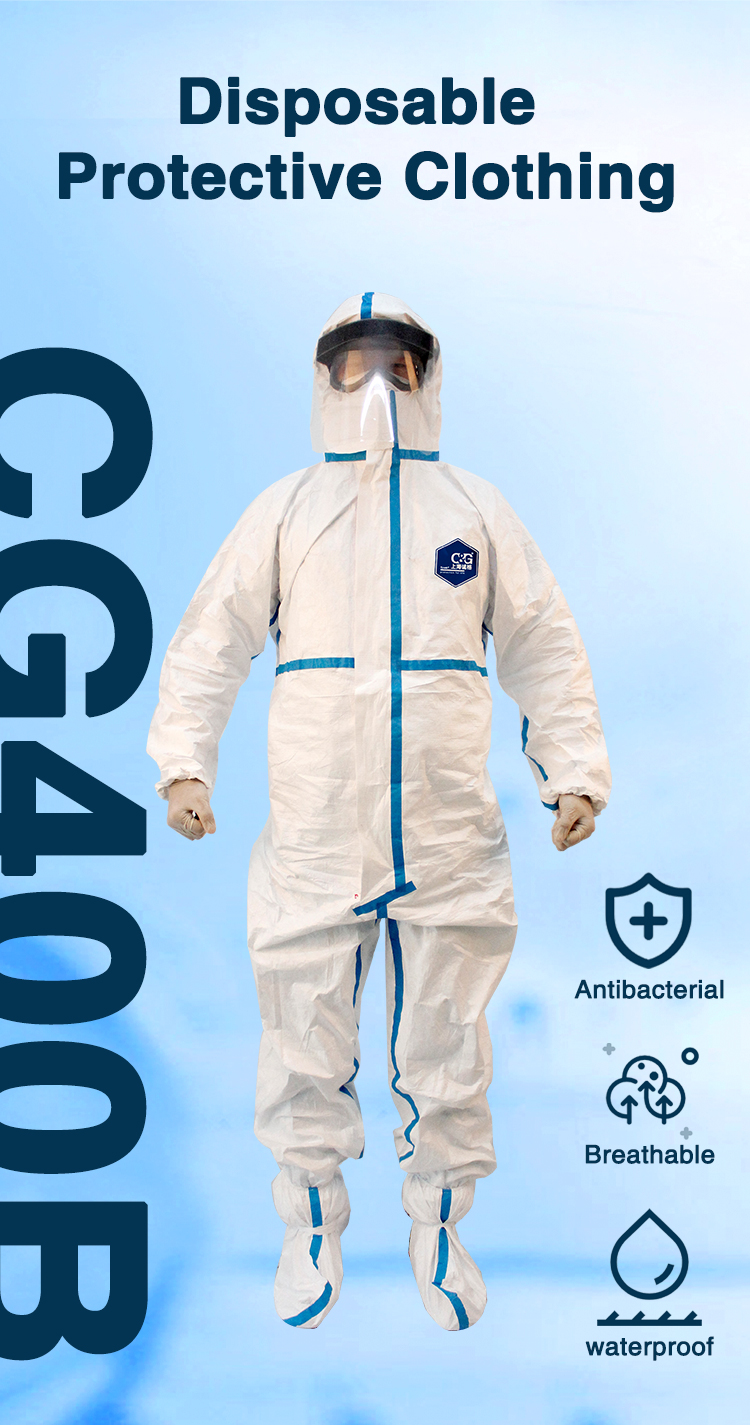 CG400B Disposable Protective Clothing