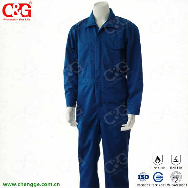 Flame resistant cotton clothing