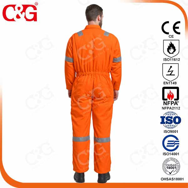 Nomex FR Coverall with Reflective Tapes