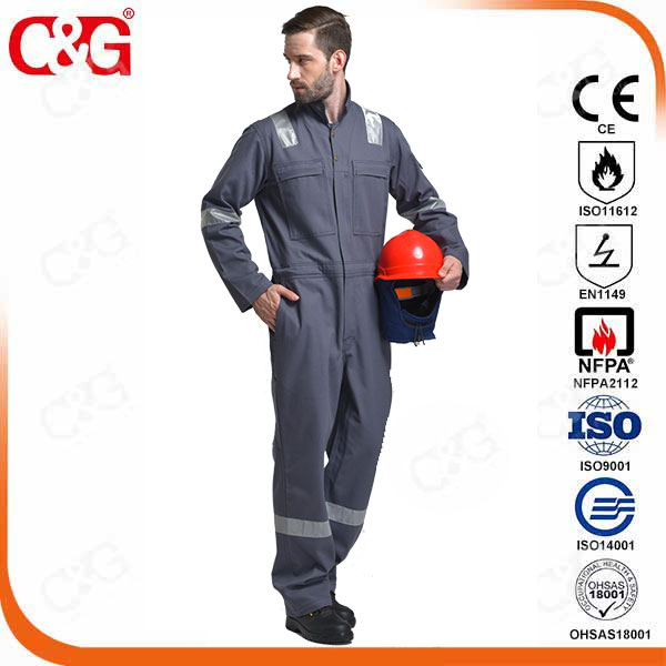 Flame retardant work clothes fr coverall