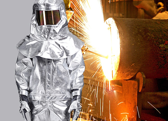 Heat protective suit function and application