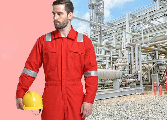What issues should companies consider when buying flame resistant clothing?