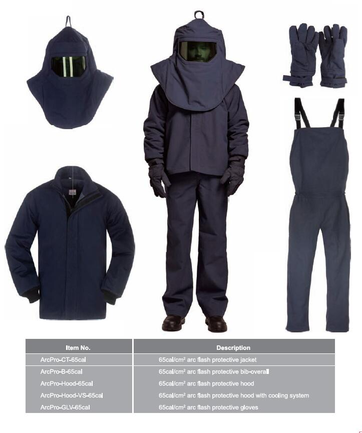 Category IV 65cal/cm2 Arc Flash Protective Suit