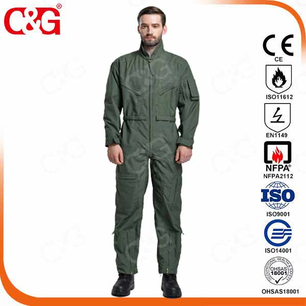 Dupont Nomex IIIA military flight suit