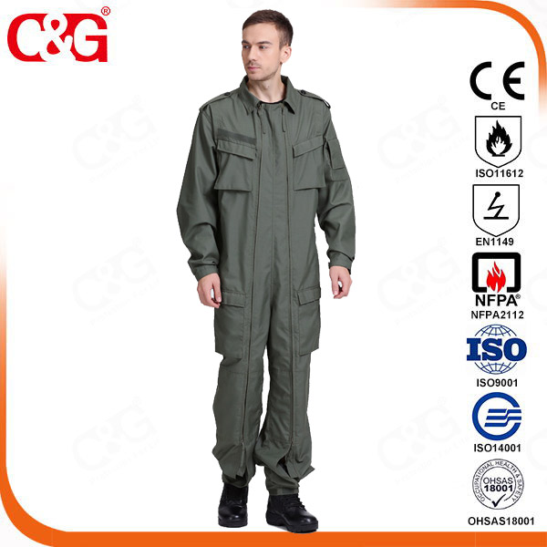 Dupont® Nomex® IIIA Tanker suit,Tank driving protective clothing