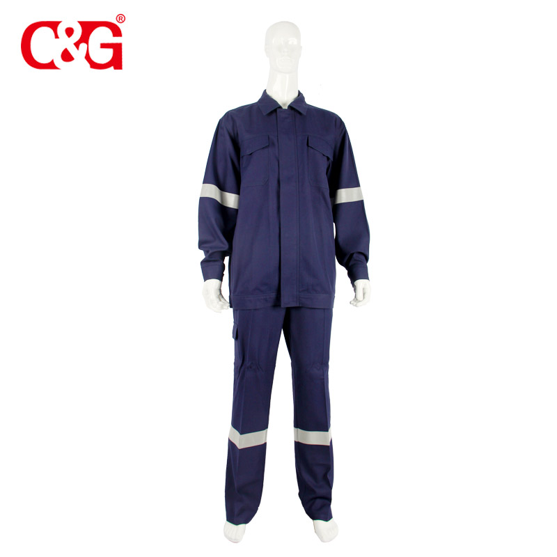 D3E3 Molten Metal Splash FR jacket and pants/work wear for aluminum smelting