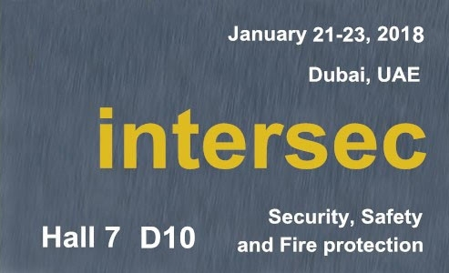 C&G Safety will be attending  INTERSEC  Dubai UAE Exhibition January 21-23, 2018