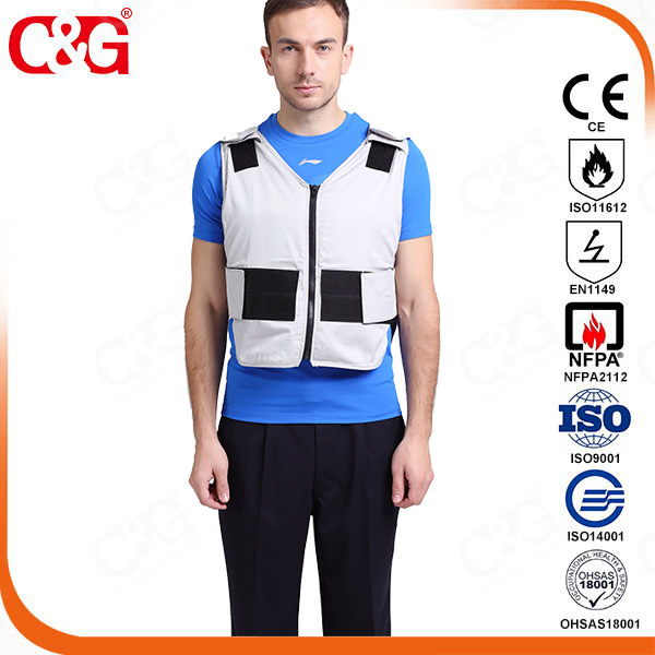 grey jell cooling vest