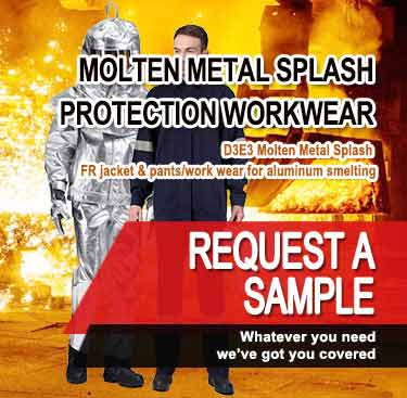 Molten Metal Splash Protection workwear