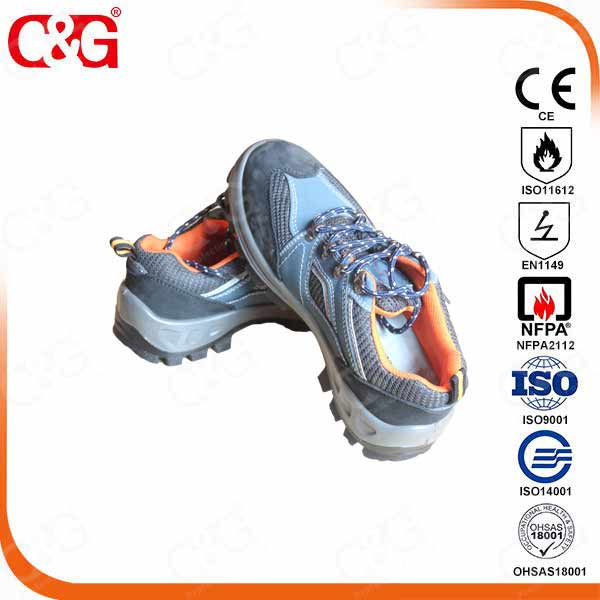 high quality leather 100% waterproof industrial safety shoes