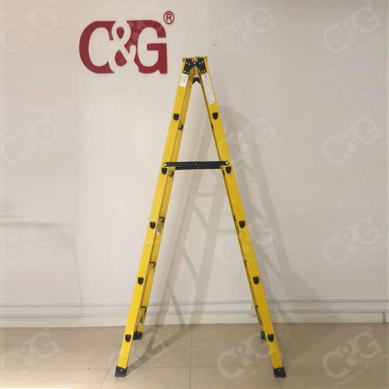 FRP electric step ladder lift