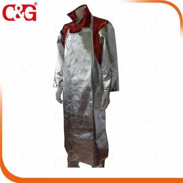 CG metal splash aluminized approach suit metaltech garment