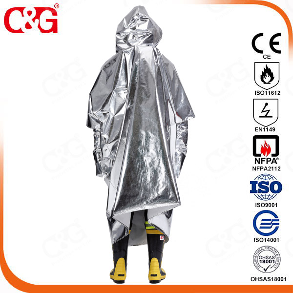 Emergency Evacuation Clothing, Proximity fire rescue, firefighting covering