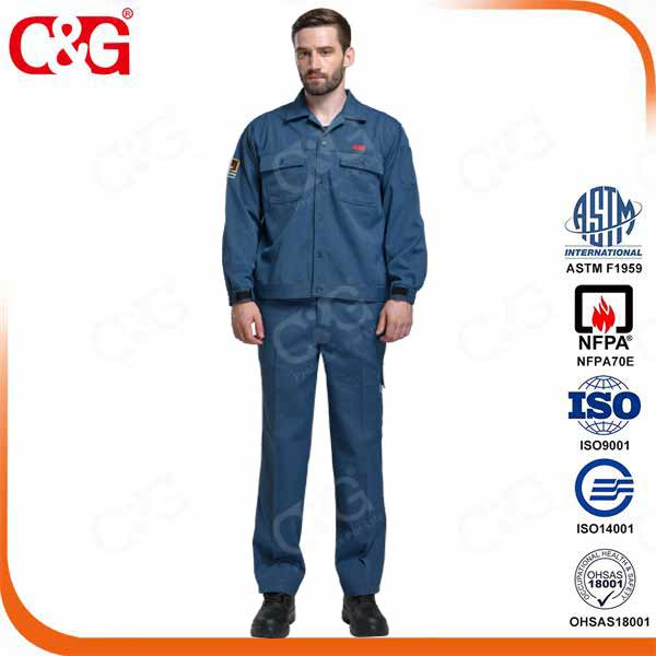 8 cal arc flash protective jacket and pants