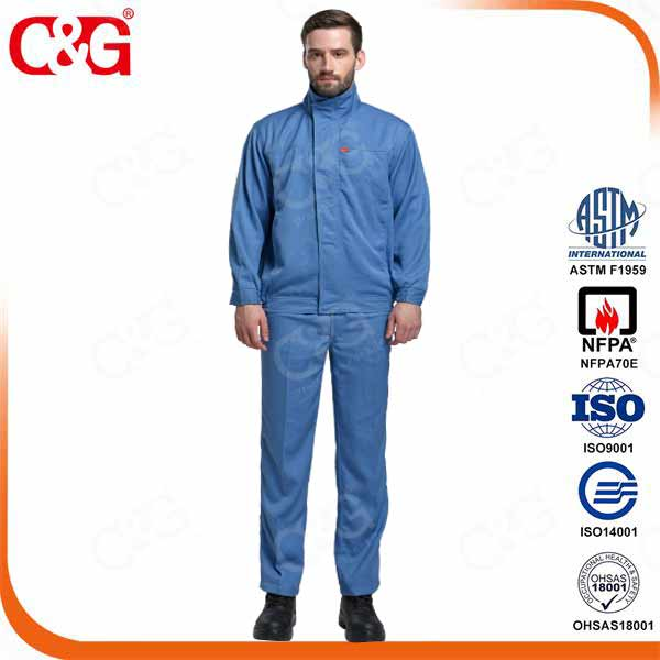 8 cal elecrical arc flash protective safety workwear