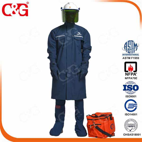HRC II 12cal Electrical Protective Clothing Electrician Uniform/flame resistant jacket
