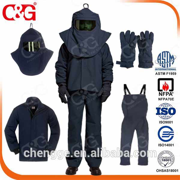 Dupont Protera 67 cal electric arc flash protection suit