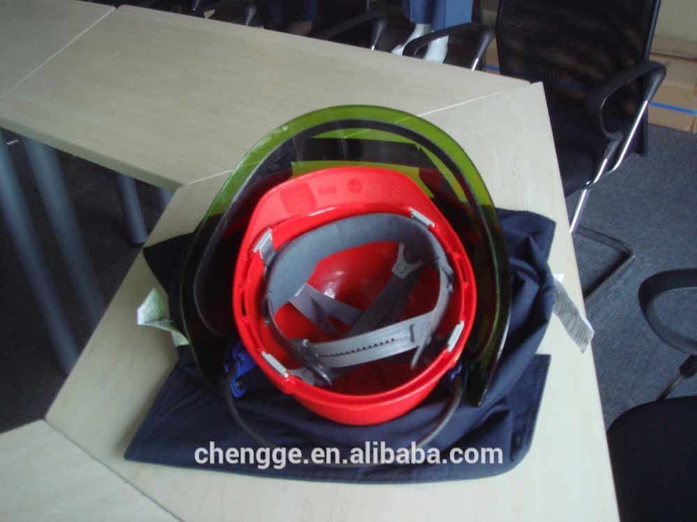 arc flash protection face shield