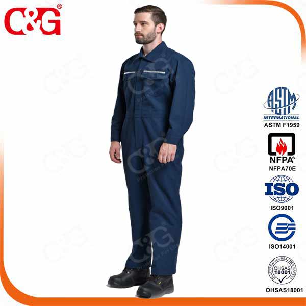 8cal 6.5oz Electric Arc Flash Protective Coverall