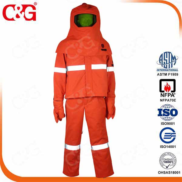 clothing manufacturing arc flash protective clothing 40 cal