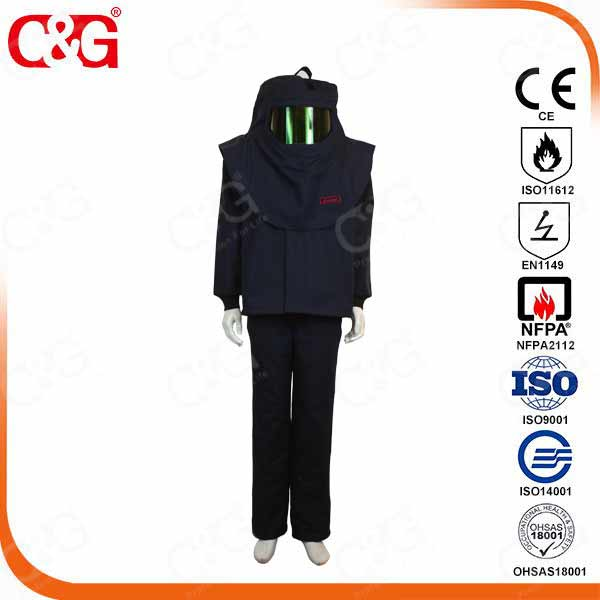 <i>Dupont Electric Arc flash material clothing</i>