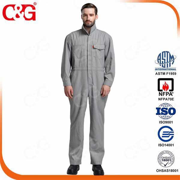 Protera 8. 7cal Arc Flash Safety Coverall