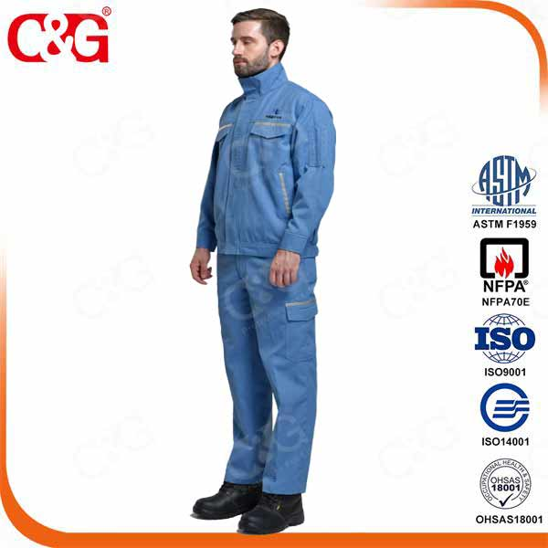 8. 7 Cal Arc flash shirt and pants