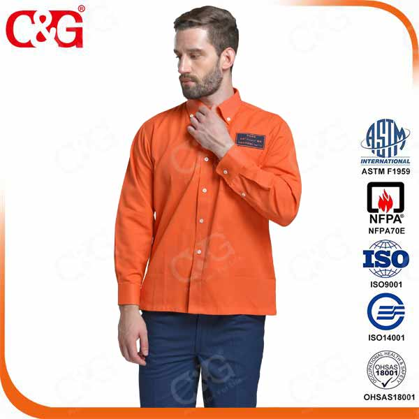 8.7cal Protera Arc Flash safety long shirt