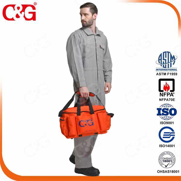 HRC2, 8.7cal Electric Arc Flash protection Suit