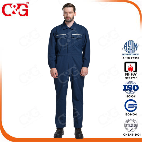 Cat2 12cal/cm2 arc flash protective clothing